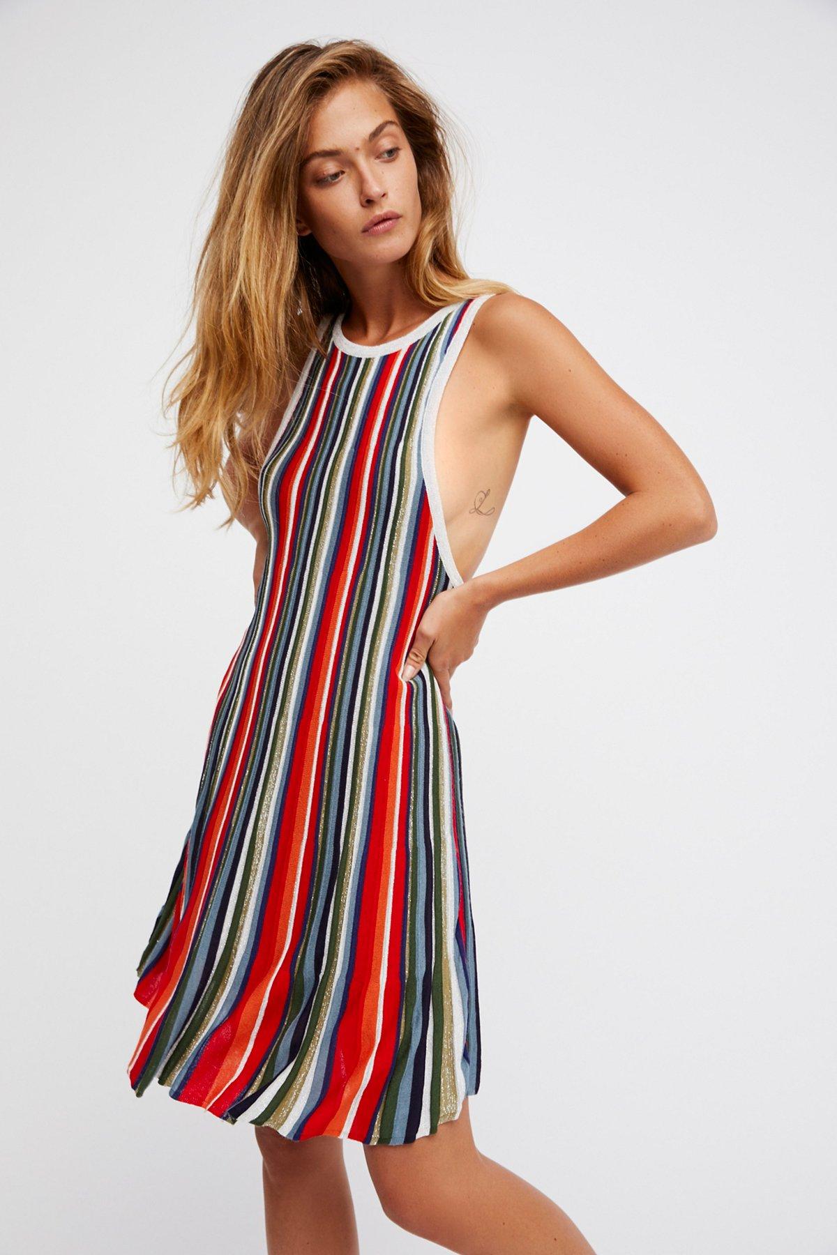 Rainbow Dragon Mini Dress