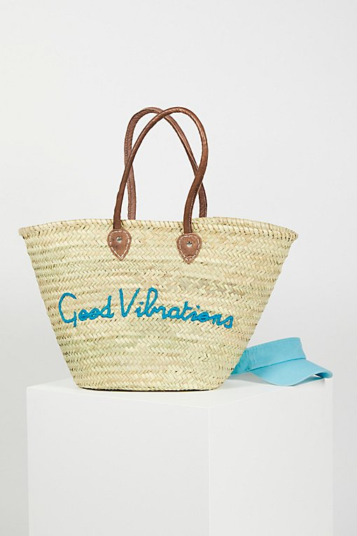 Product Image: La Plage Poolside Basket Bag