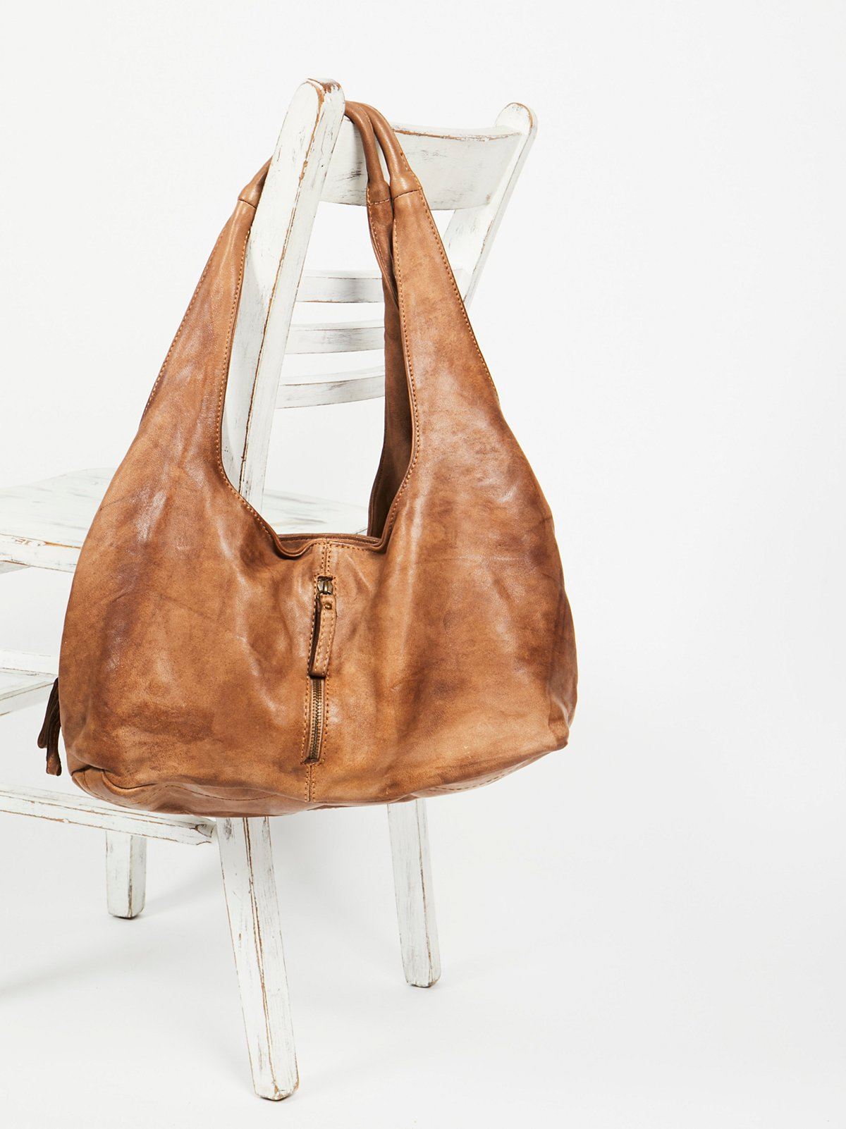 Fiore Distressed Hobo