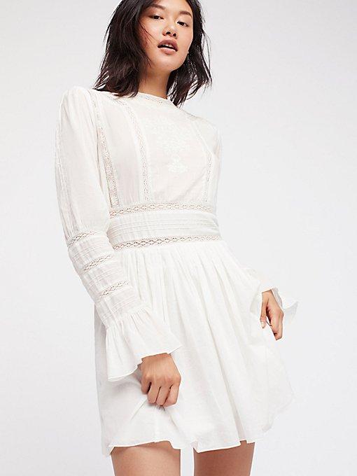 Product Image: Victorian Waisted Mini Dress