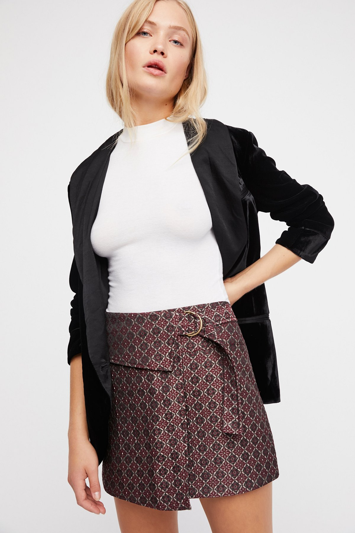All The Shine Mini Skirt