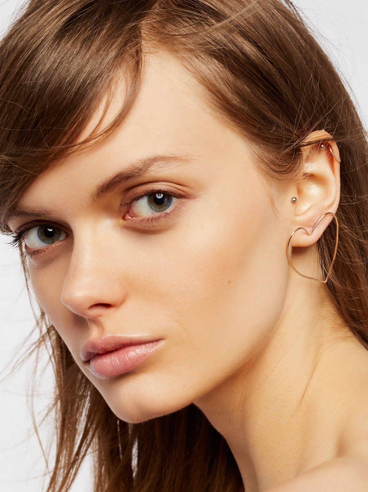 Front Facing Shape Hoops