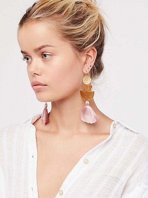 Product Image: Bryce Canyon Tassel Earrings