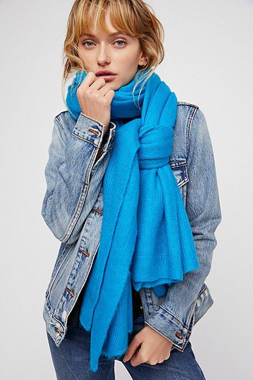 Product Image: Kennedy方格纹针织围巾