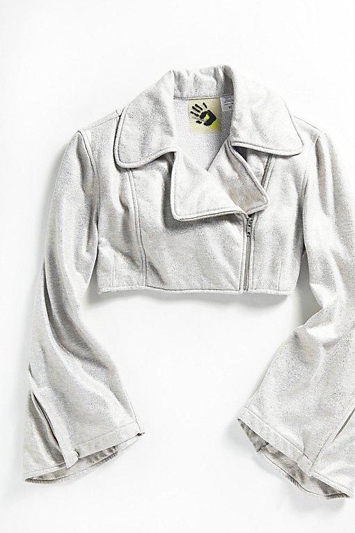 Product Image: Vintage Moto Sweatshirt Jacket