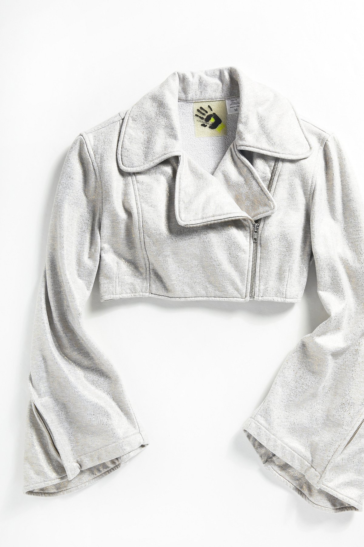 Vintage Moto Sweatshirt Jacket