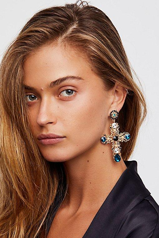Product Image: Cross My Heart Earrings