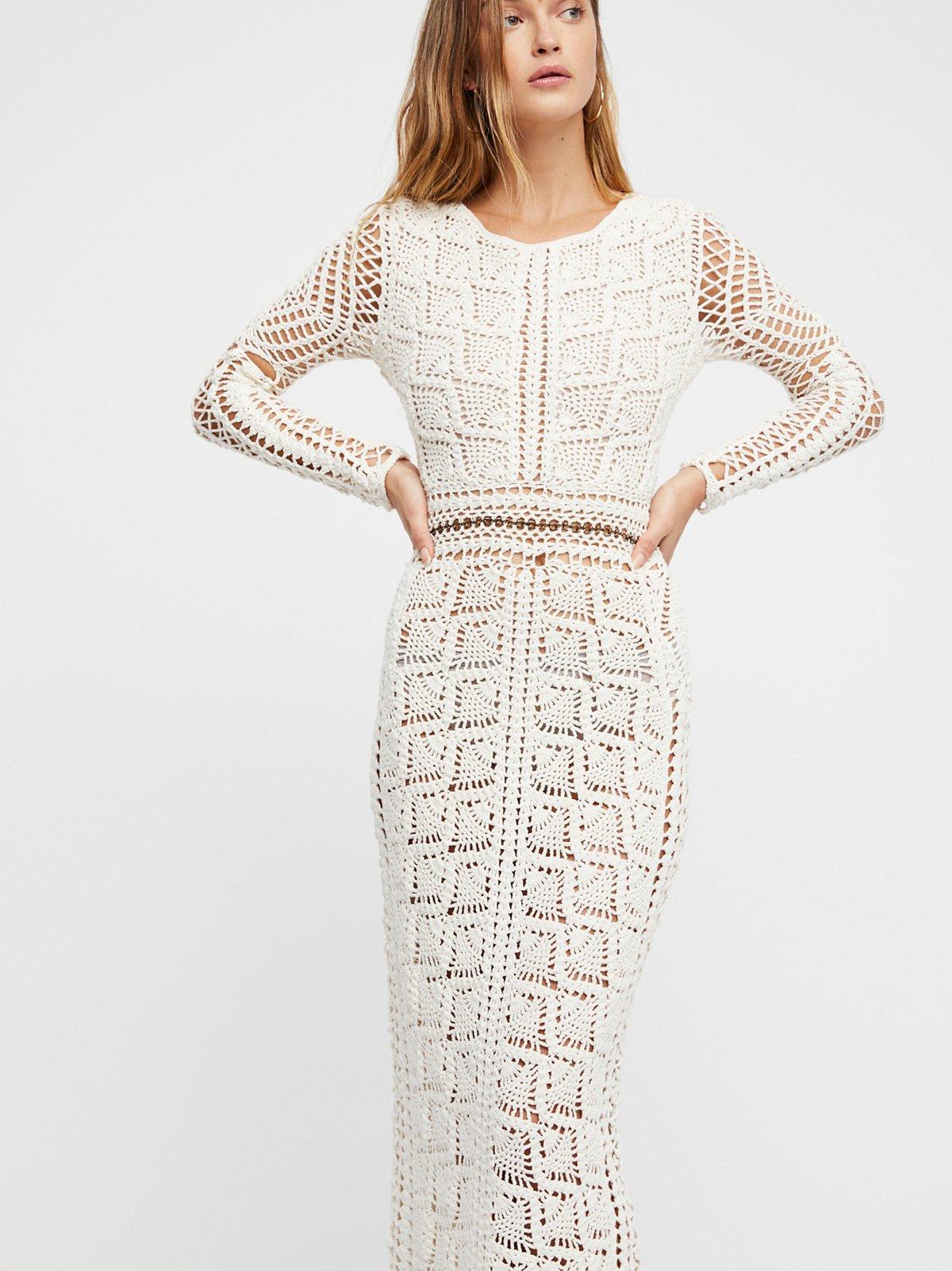 Maya Crochet Tunic