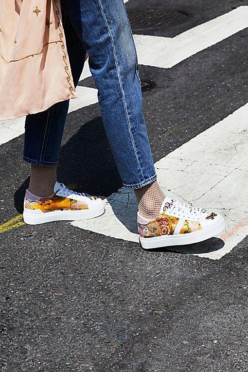 Product Image: Poplin Platform Sneaker