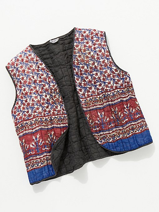 Product Image: Vintage 1960s Quilted Vest