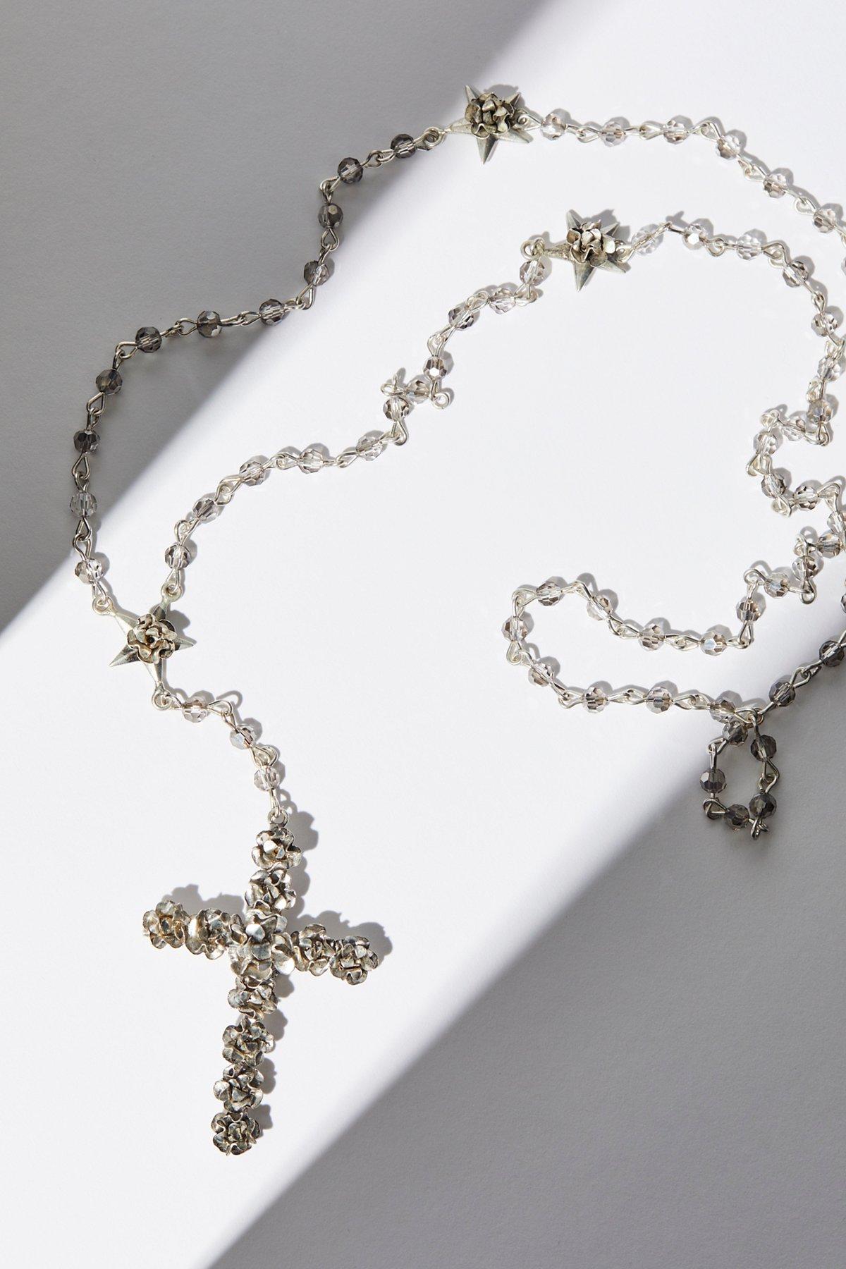 Coronation水晶念珠项链