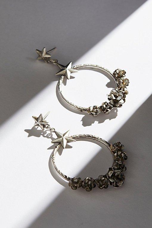 Product Image: Esperanza Coronation Hoop Earrings
