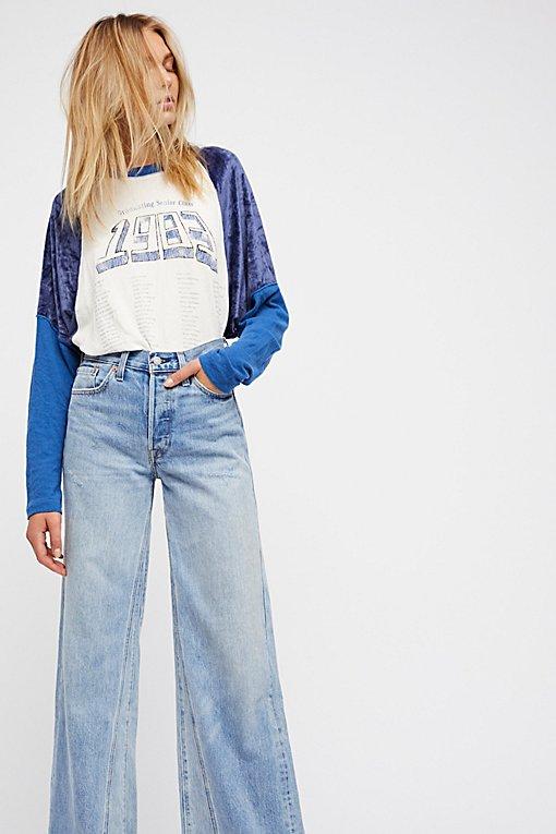 Product Image: Levi's改动宽腿牛仔裤