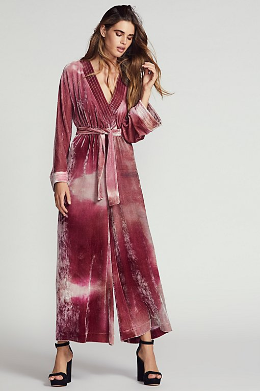 Product Image: Cleo Velvet Jumpsuit