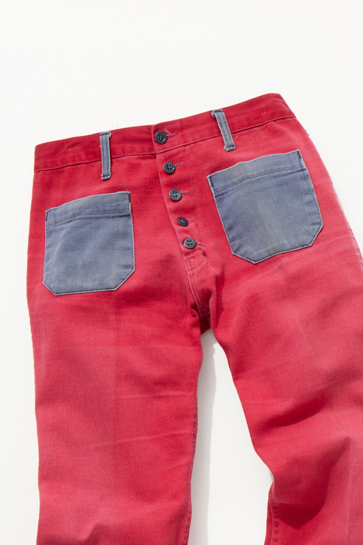 Vintage 1960s Two Tone Flares
