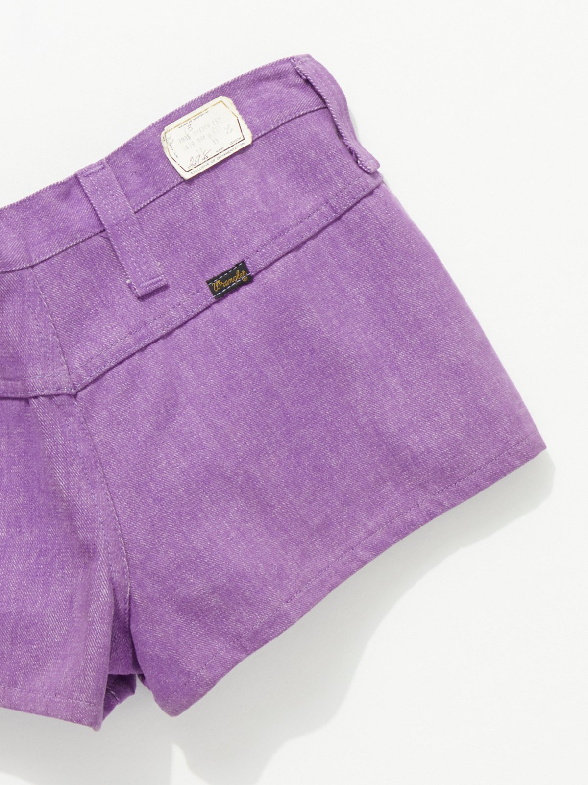 Vintage 1960s Purple Denim Hot Shorts