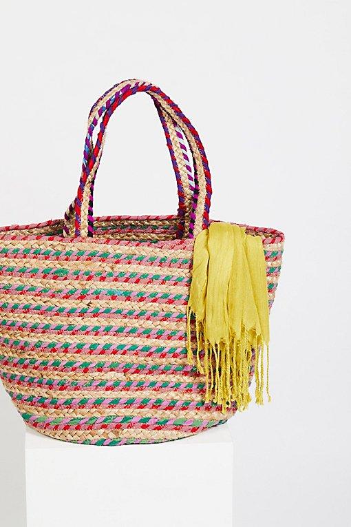 Product Image: Mirage黄麻手提包