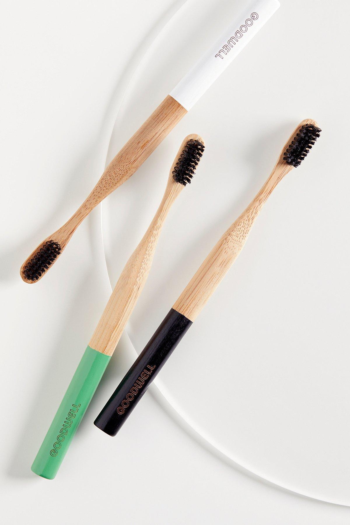 竹子 + 备长炭牙刷