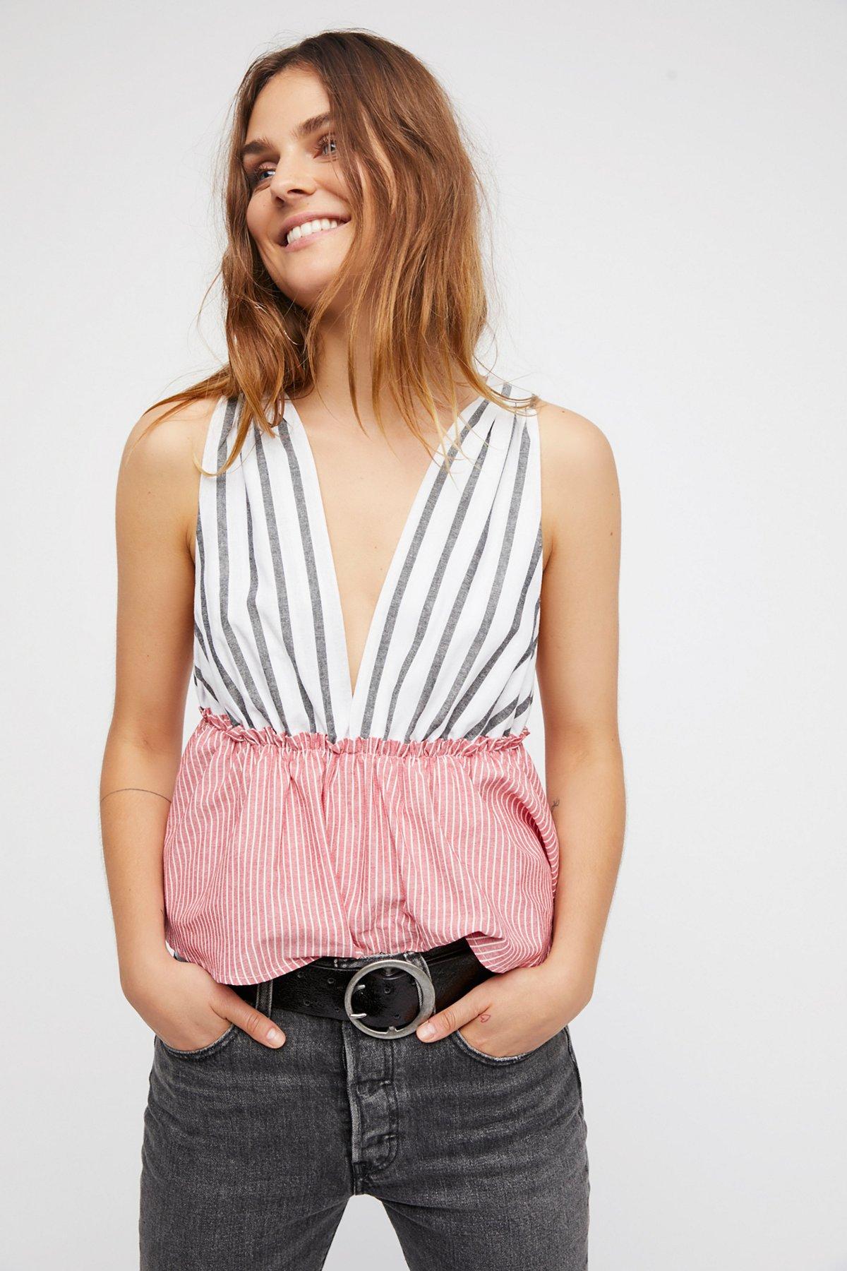 Lily Stripe Top