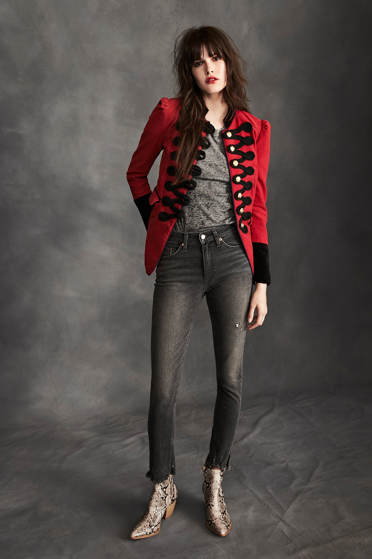 Levi's 721 High Rise Skinny Altered