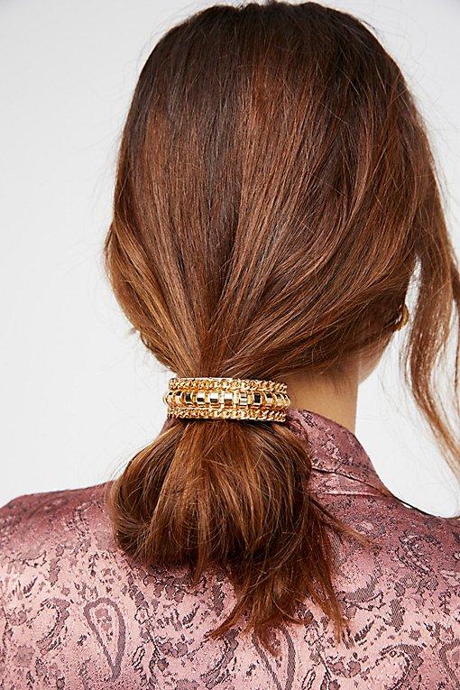 Product Image: Curb Chain Bun Cuff