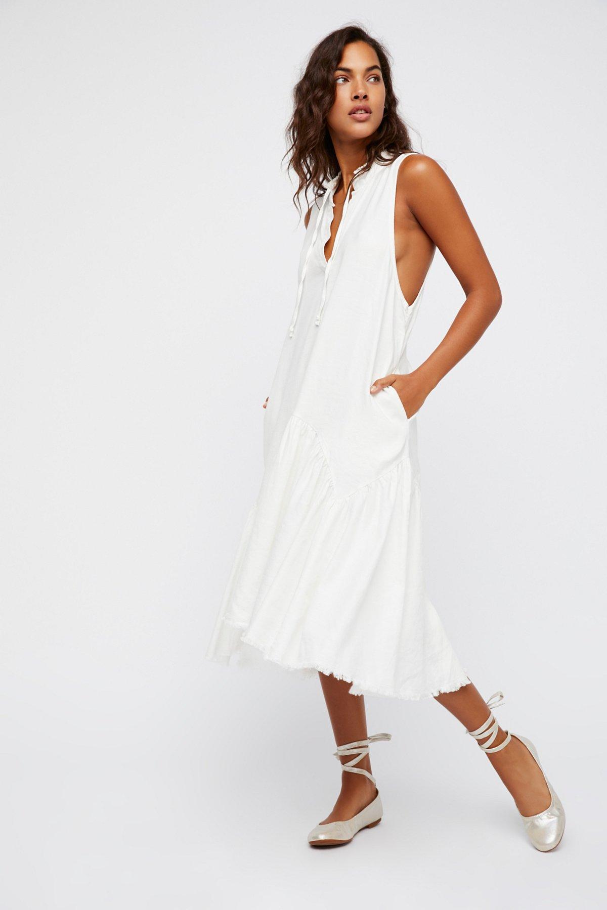 True Tomboy Midi Dress