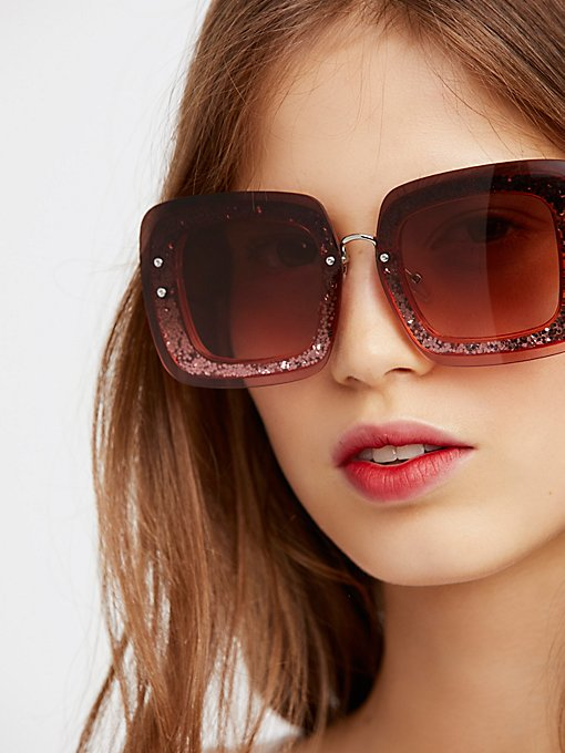 Product Image: Cosmopolitan Glitter Sunglasses