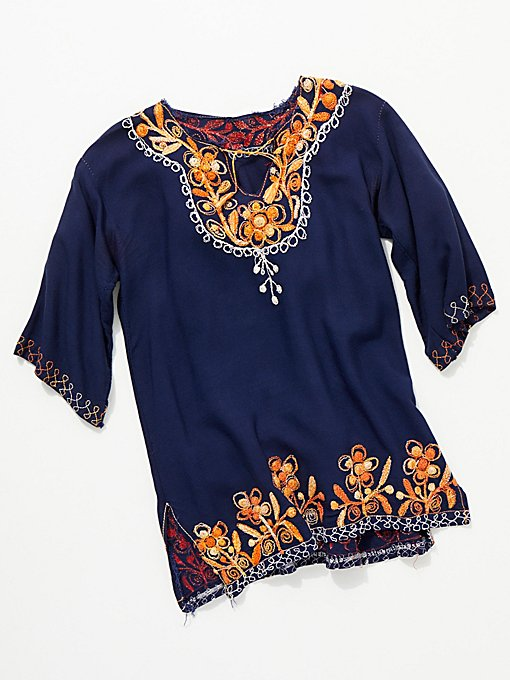Product Image: Vintage 1960s Embroidered Tunic