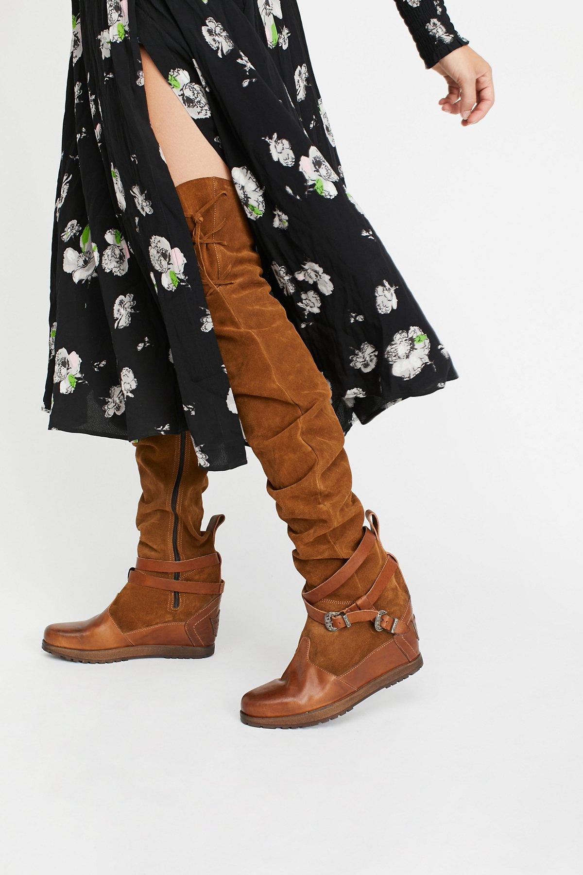 Axel Thigh High Boot