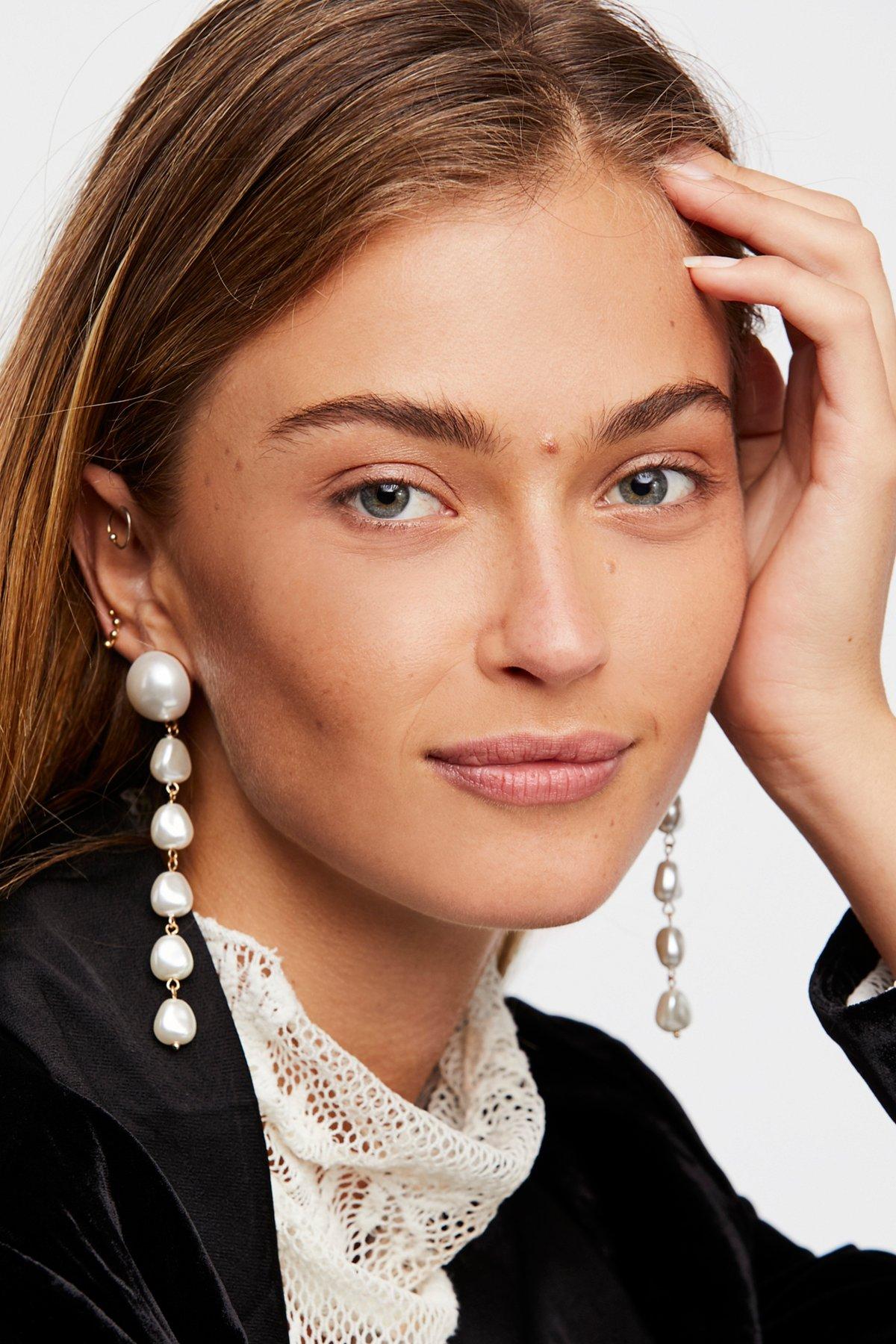 Pretty in Pearls吊坠耳环