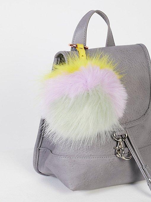 Product Image: XL Faux Fur Pompom Bag Charm