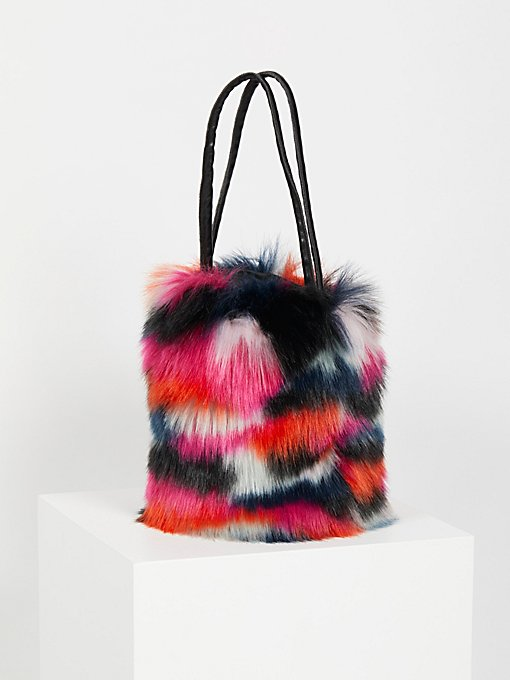 Product Image: Talulah Faux Fur Bucket