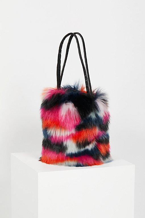 Product Image: Talulah Faux Fur Bucket