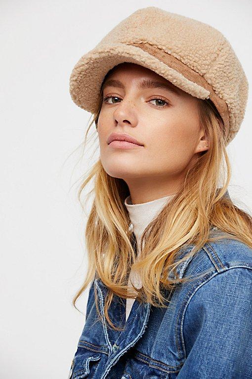 Product Image: Eloise Faux Shearling Lieutenant Hat