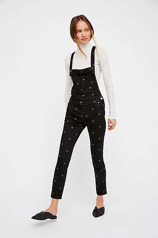 Product Image: We The Free Embroidered Denim Overall