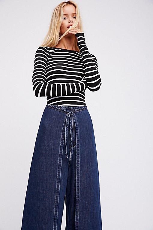 Product Image: 围裙牛仔裤