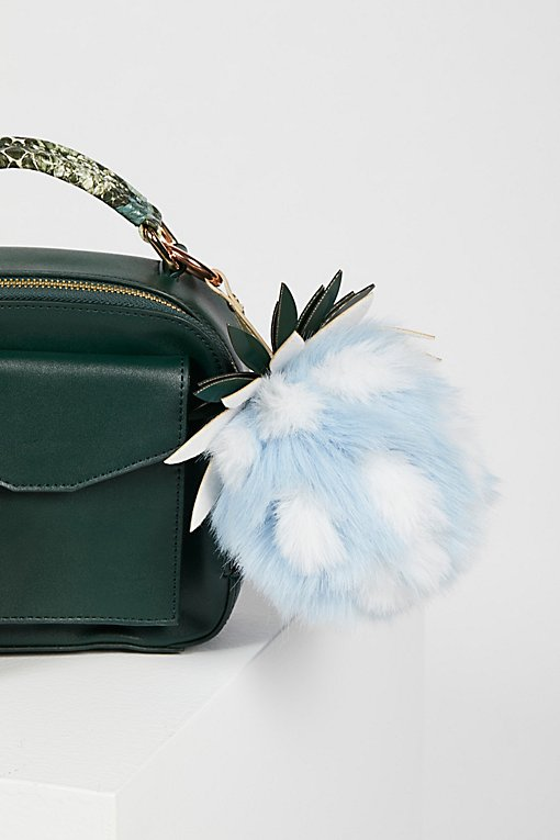 Product Image: Pineapple Faux Fur Bag Charm