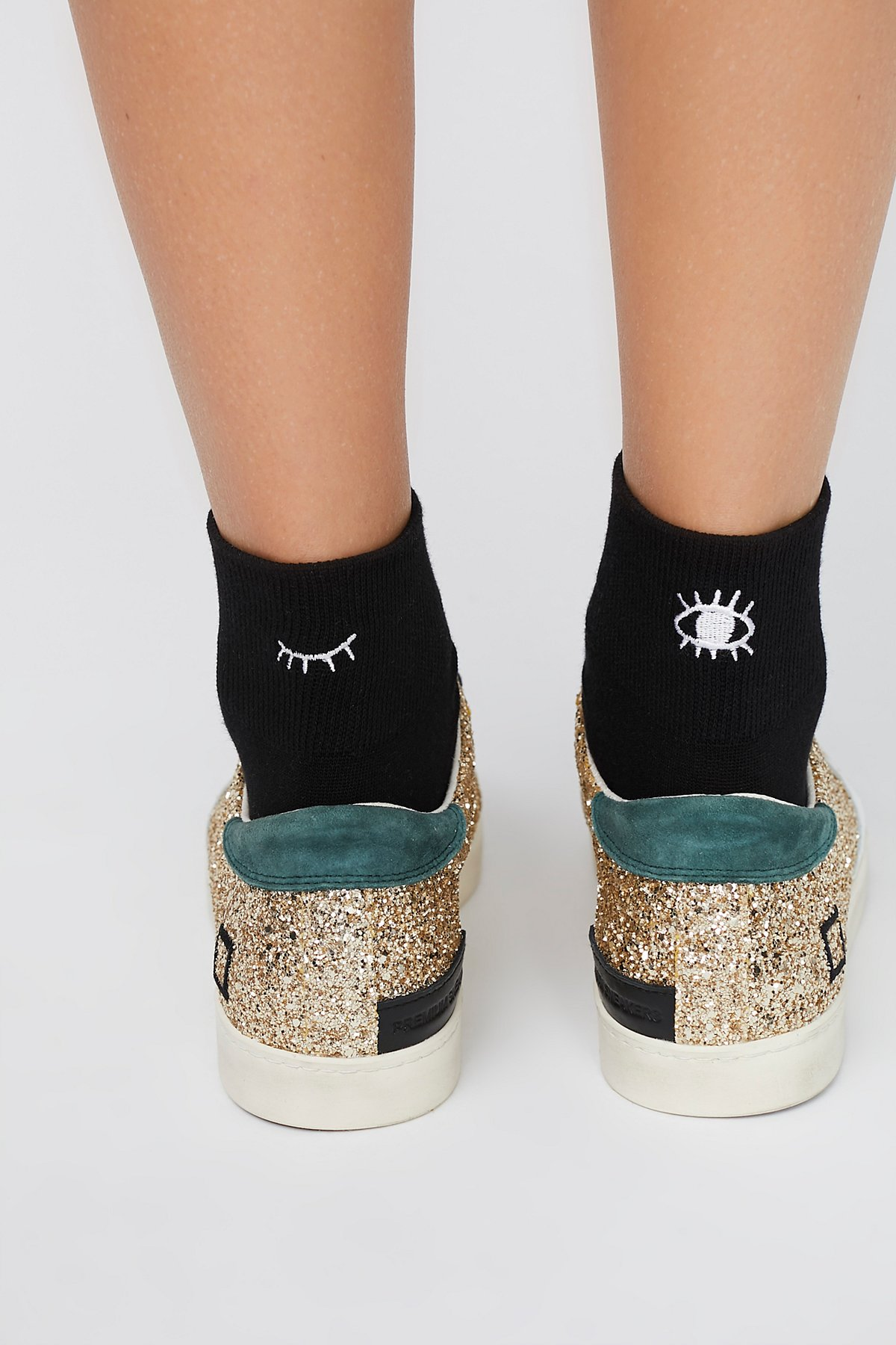 Embroidered Anklet