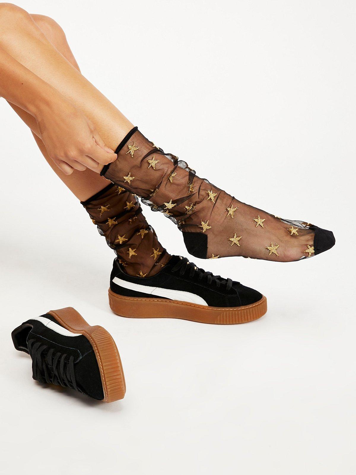 Aura Sheer Sock