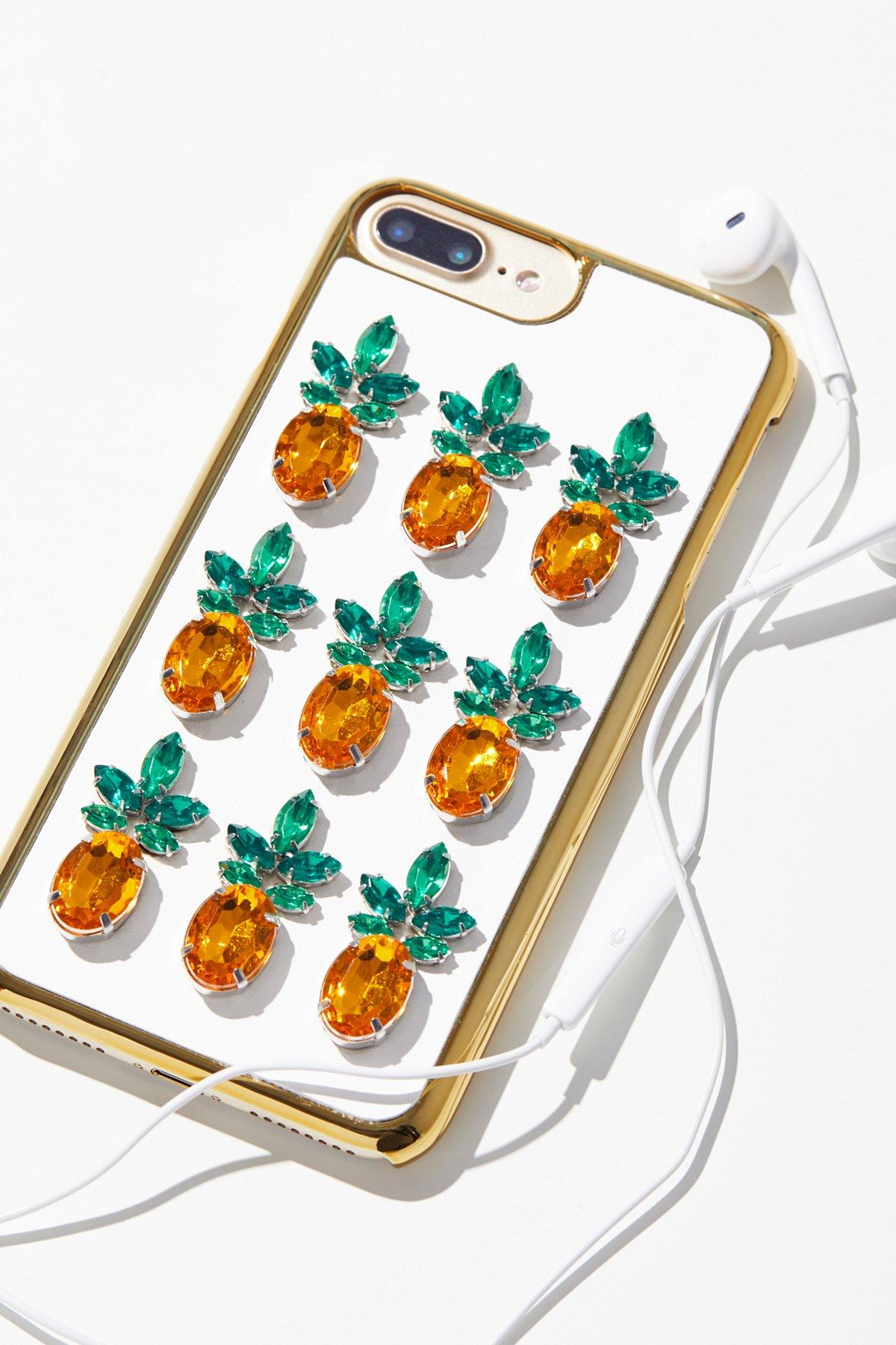 Pineapple Gem iPhone Case