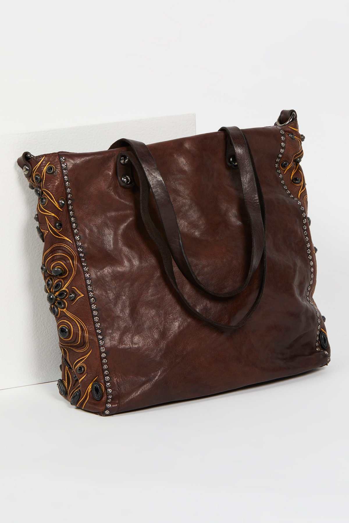 Baroque Distressed Tote