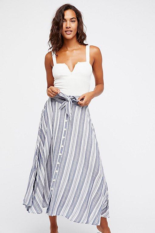 Product Image: Pocket Full Of Rainbow Midi Skirt