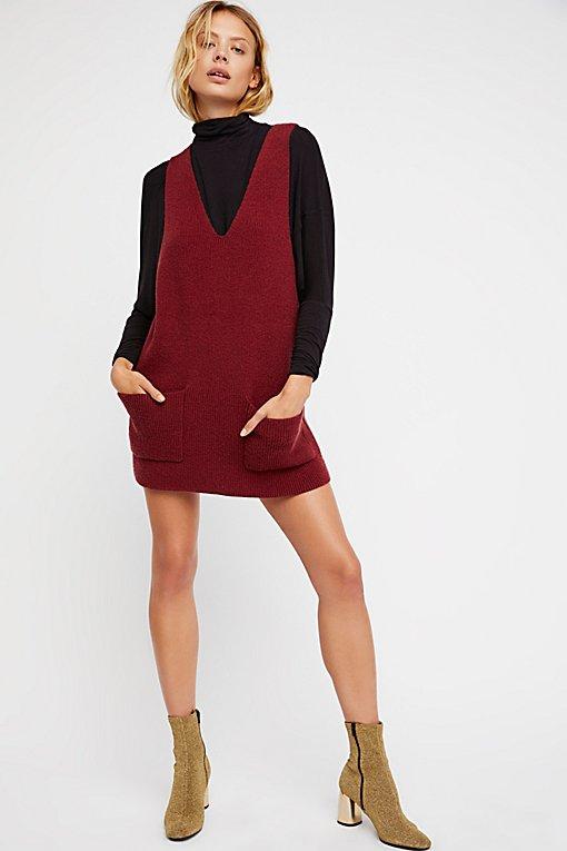 Product Image: Nikki Jumper Pinafore Dress