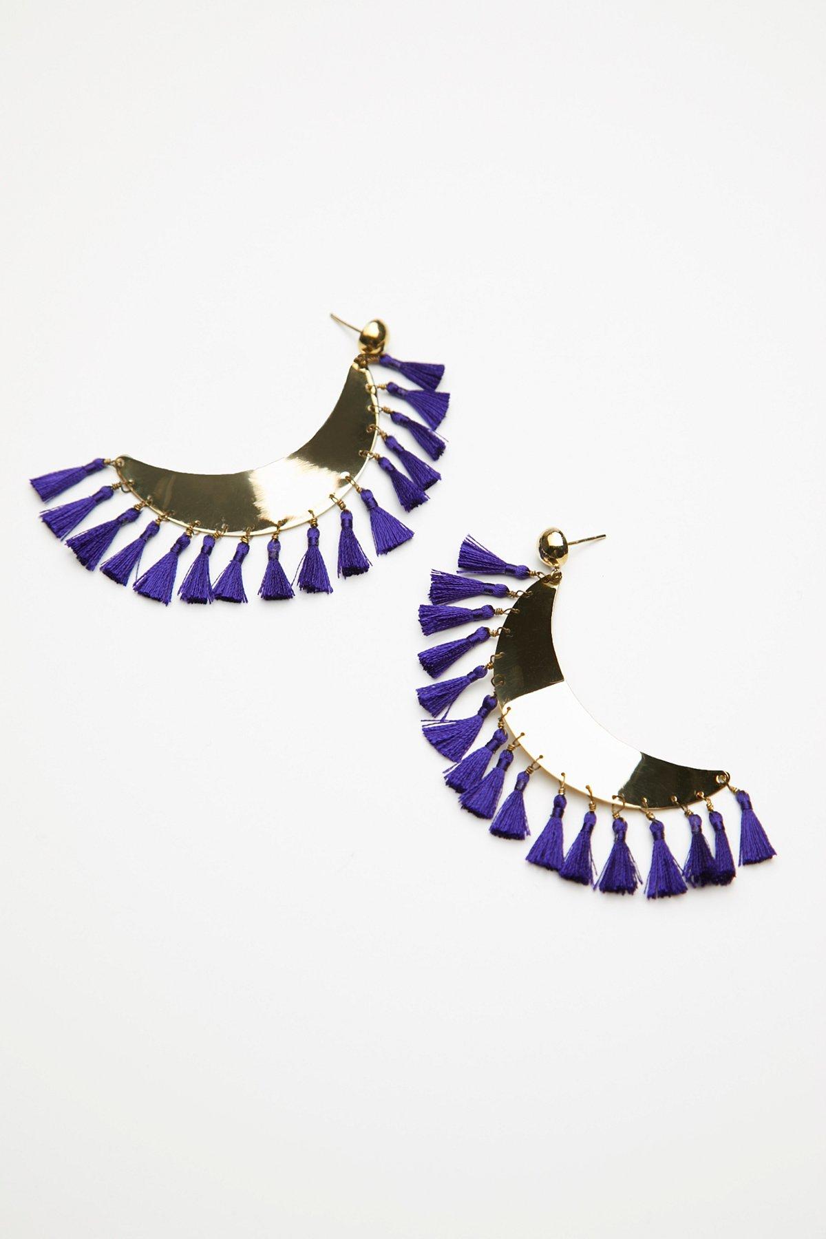 Antigua Summer Tassel Earrings