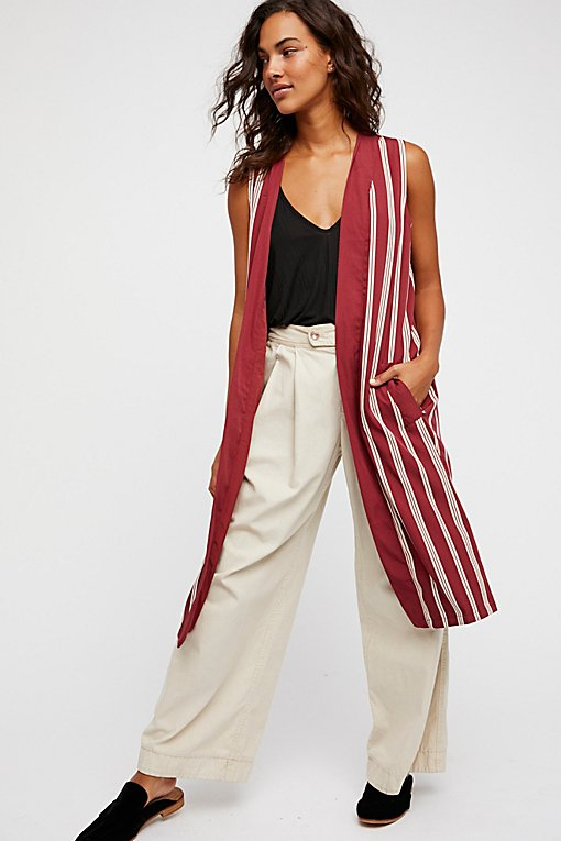 Product Image: Business Casual Pinstripe Vest