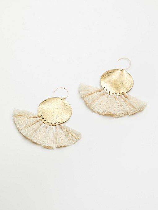 Product Image: Lunar Rays Tassel Earrings