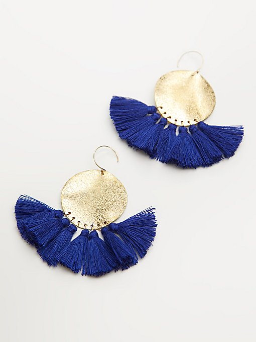 Product Image: Lunar Rays Tassel Earrings