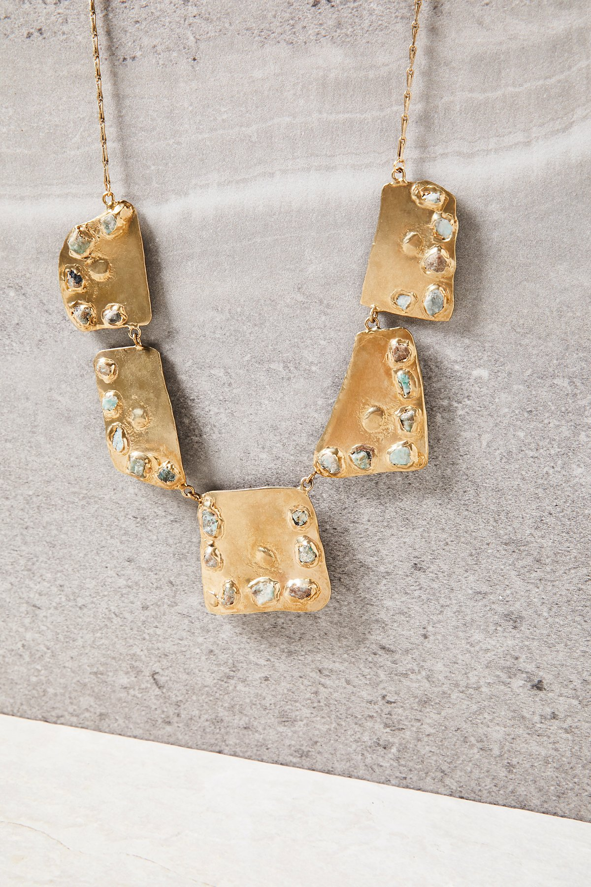 Salt Flat Emerald Necklace