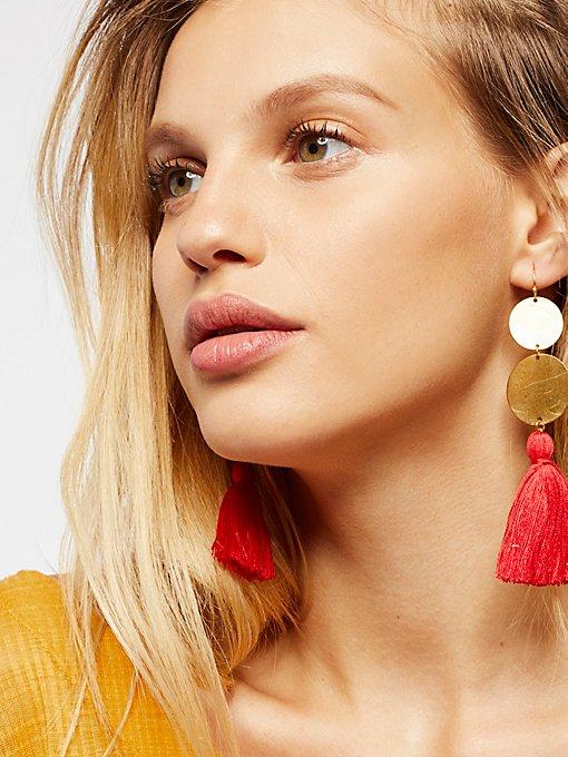 Product Image: Island Hopping Tassel Earring