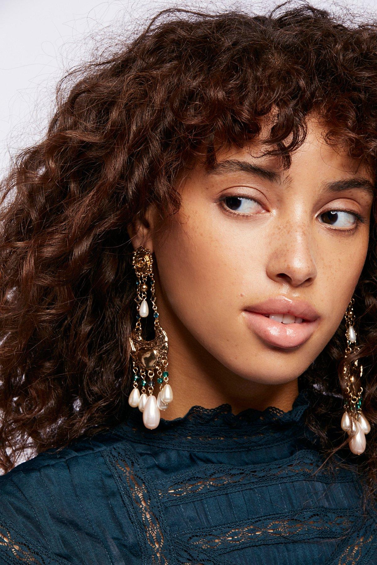 Mirabella Stone Drop Earrings